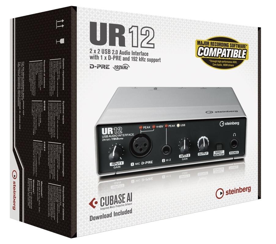 Steinberg UR 12 USB Audio Interface